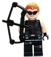 Hawkeye Minifigure - Marvel Super Heroes Figure For Custom Lego Minifigures   15