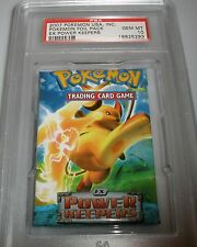POKEMON RAICHU USA FOIL PACK EX POWER KEEPERS GEM MINT PSA 10