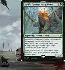 Ayula, Queen Among Bears Commander Deck - Green BEARS Magic MTG - Ready-to-Play