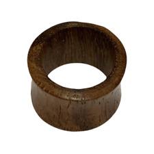 10 mm Piercing Tunnel Bois Sawo Bijou Ethnique Unisexe Inde Indien