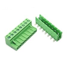 Right Angle 8Pin 5.08mm KF2EDG PCB Terminal Block Screw Connectors Male&Female