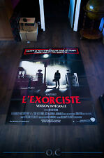 THE EXORCIST DIRECTOR'S CUT 4x6 ft French Grande Movie Poster Original 1974