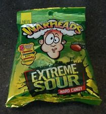WarHeads Extreme Sour Candy 5 Assorted Flavors 1 PKG Hard NEW IN PKG 2oz WOW!