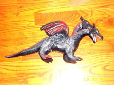Large Two-Headed Rubber Dragon by Toy Major Trading Co. Figure Play Toy 2005