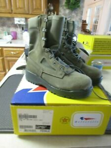 Belleville F600 ST Women's USAF Hot Weather Steel Toe Sage Green Boots NIB 5 Reg