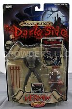 """Marvel History The Dark Side Vermin 5"""" Action Figure Previews Exclusive '00 NIP"""