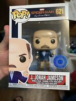 Funko Pop Marvel Spiderman Far From Home J Jonah Jameson Pop in A Box Exclusive