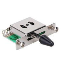 5 Way Selector Switch Toggle Lever for Strat Style 3 Single Coil Pickup Guitars