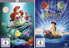 Arielle, die Meerjungfrau Diamond Edition 1+2 DVD 1989 UTE LEMPER!! NEU & OVP!!