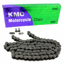 KMC Yamaha 420H x 104 Link Scooter Heavy Duty Drive Chain Pitch 1/2""