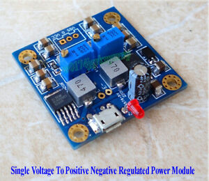 HIFI Low Noise Single Voltage To Positive Negative Regulated Power Supply Board