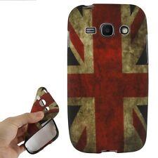 Hülle f Samsung Galaxy Ace 3 S7275 S7270 Schutz Case Cover Silikon England GB UK