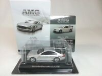 1:64 Kyosho Mercedes-Benz AMG Minicar Collection CLK DTM C209 Silver Secret Car