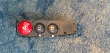 Alfa Romeo 166 ICS Hazzard Hazard Fog Light Front Rear Switch panel