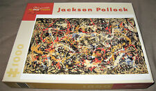 "Jackson Pollock 1000 Piece Puzzle ""Convergence"" - New & Unsealed"