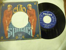 "ANNARITA SPINACI"" CIAO CARO-disco 45 giri PHILIPS It 1965"""