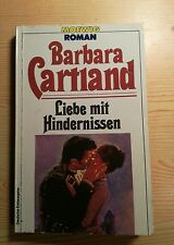 Barbara Cartland Liebe mit Hindernissen Liebes-Roman England 156 Seiten