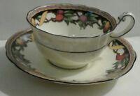 Paragon Tea Cup and Saucer Fruit Pattern