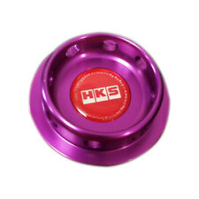 HKS Engine Oil Fuel Filler Cap Cover Billet Purple For TOYOTA 86/SUBARU BRZ