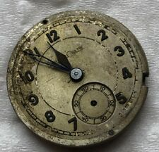 Jaeger LeCoultre military wristwatch movement & dial 29 mm. in diameter