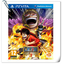 PSV One Piece Musou 3 ENG 海贼无双3 中文 日文 SONY PlayStation VITA Beat 'em Up Bandai