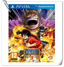 PSV One Piece Musou 3 ENG 海贼无双3 中文 日文 SONY PlayStation VITA Beat 'em Up Bandai