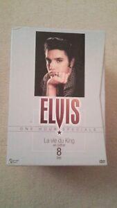 ELVIS PRESLEY : LA VIE DU KING COFFRET 8 DVD