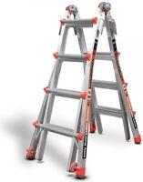 17 1A Revolution Little Giant Ladder 12017 w/ wheels