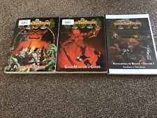 Hackmaster RPG  3 Books - Players Handbook, GameMasters Guide, Beasts Vol 1