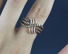 LeVian Princess Alexandra 14K Rose Gold 1.37ct Chocolate Diamond Ring Band