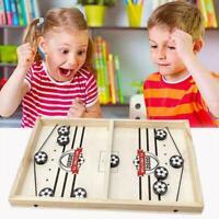 Schnelles Sling Puck Spiel Tempo Desktop Gewinner Spielbrett Kind Toys A2C5
