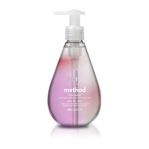 Method Gel Hand Wash, Rose Water, 12 Ounces