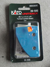 N HO Scale Kato Unitrack Turnout Control Switch 24-840 NIP