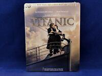 TITANIC 3D + 2D Steelbook Bluray Leonardo DiCaprio Kate Winslet James Cameron