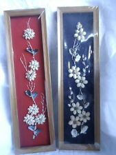 Arts & Crafts/Mission Style Floral Wall Hangings