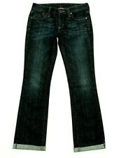Dylan George Women's Amber Low Rise Bootcut Straight Jeans Size 27 with turn up