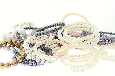 Wholesale Lot of 20 Genuine Cultured Freshwater Coil Pearl Bangle Bracelet
