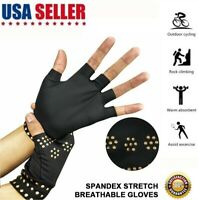 Magnetic Gloves Arthritis Therapy Support Pressure Pain Relief Heal Joints USA
