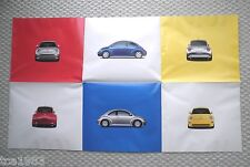 Big 1999 Volkswagen VW BEETLE / BUG Brochure / POSTER: Diesel,