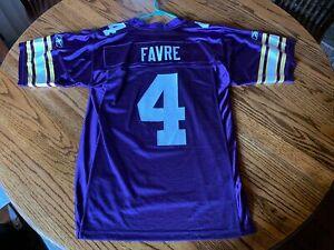 Brett Favre Minnesota Vikings Alternative Throwback Reebok Onfield Small Jersey