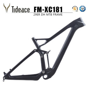 29er Carbon Mountain Bike with 148*12 Twinloc Full suspension Carbon mtb frame