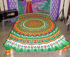 Twin Mandala Bedspread Boho Wall Hanging Tapestry Bed Sheet Throw Blanket Multi