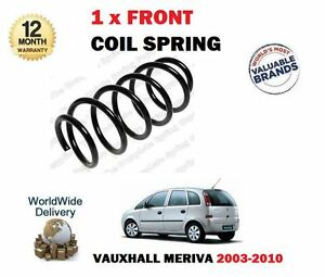 FOR OPEL VAUXHALL MERIVA 1.3 CDTI 1.6 1.8 2003-2010 NEW 1 X FRONT COIL SPRING
