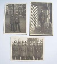 3 x foto polizia poliziotti tschako Wiesbaden? 1930 per! (294)