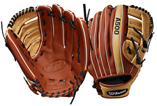 "Wilson A500 12.5"" Youth Baseball Glove WTA05RB19125"