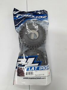 2X Bundle   Flat Iron 1.9'' XL G8 Rock Terrain Truck Tires for RC Cars Brand New