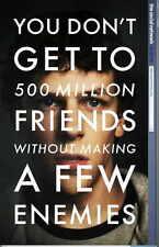 THE SOCIAL NETWORK Movie Promo POSTER B Jesse Eisenberg Andrew Garfield