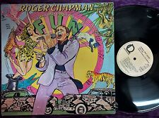 DISCO LP ROGER CHAPMAN - HYENAS ONLY LAUGH FOR FUN - LINE RECORDS 1981 - VG/VG-