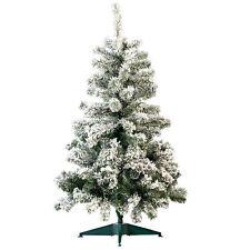 Tannenbäume: Künstlicher Weihnachtsbaum im Schneedesign, 120 cm, 199 PVC-Spitzen