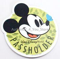 NEW 2018 Walt Disney World Flower & Garden Annual Passholder Mickey Mouse Magnet